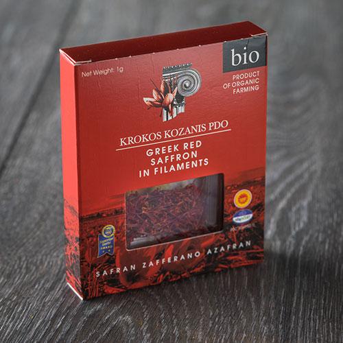 Greek Red Organic Saffron 27.8