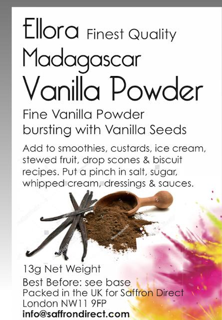 Ellora Vanilla Powder 15.5